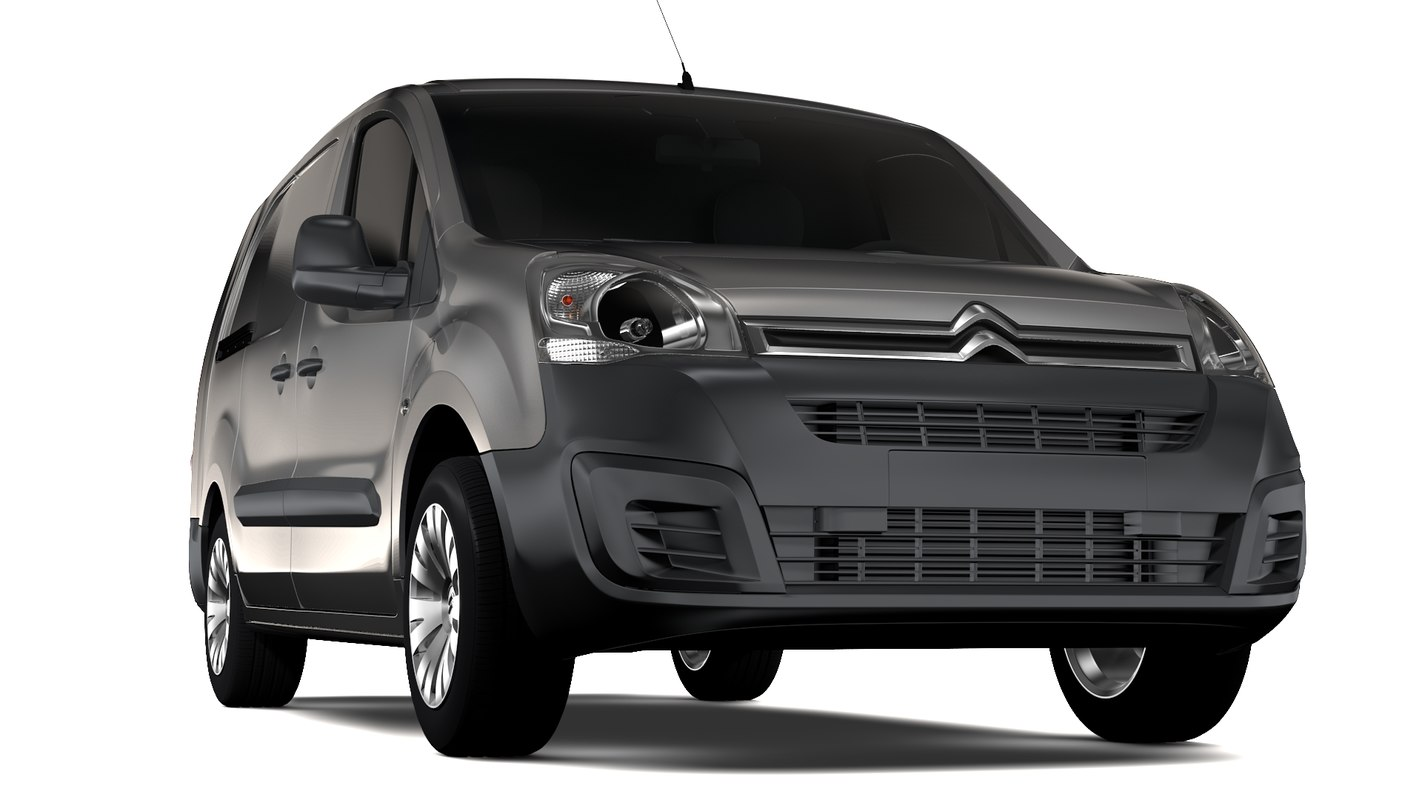 3D citroen berlingo van l2