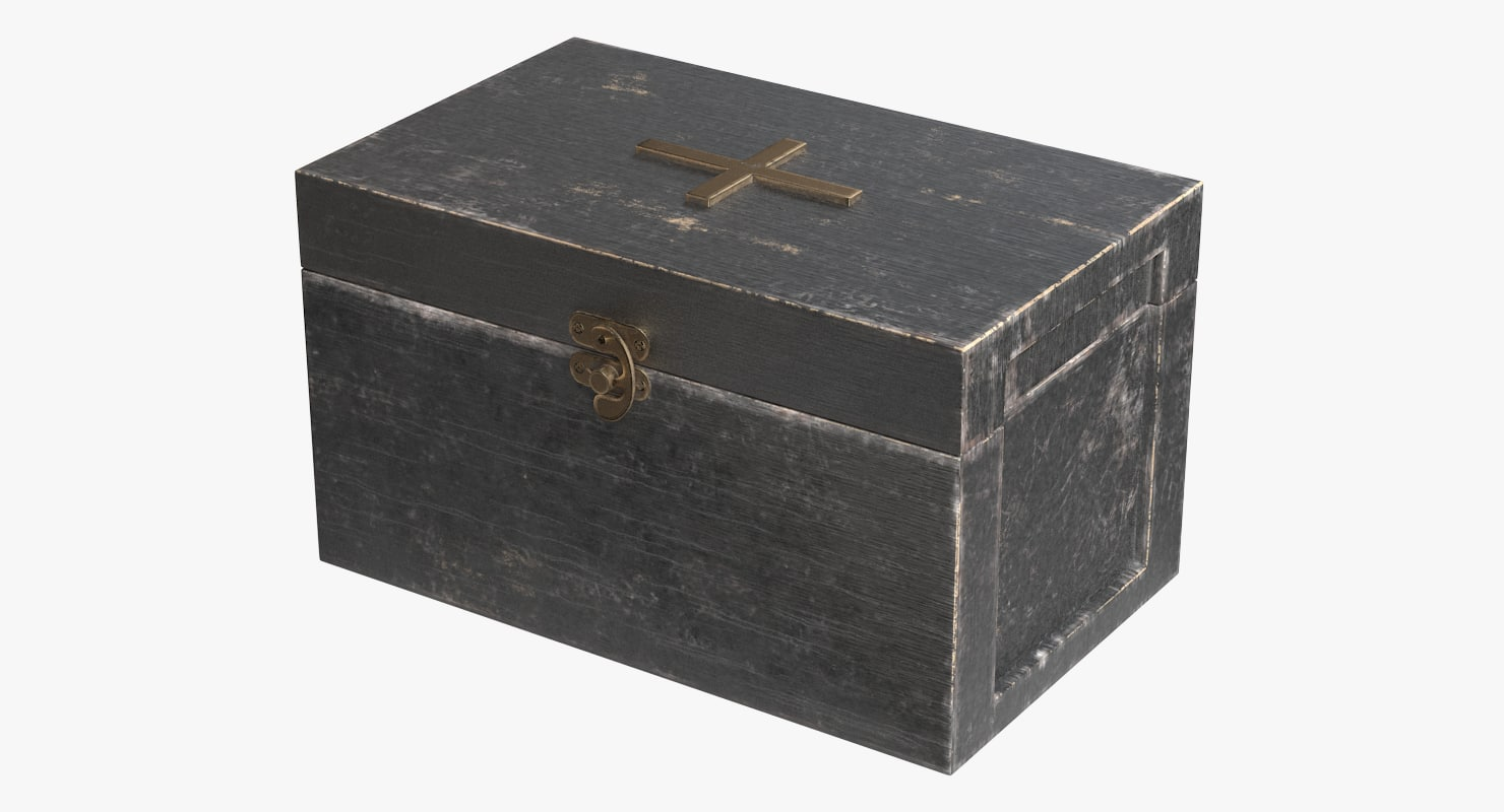 small jewelry box 3d model turbosquid 1195367