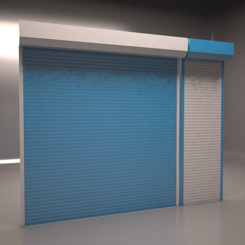 electrically shutter 3D model