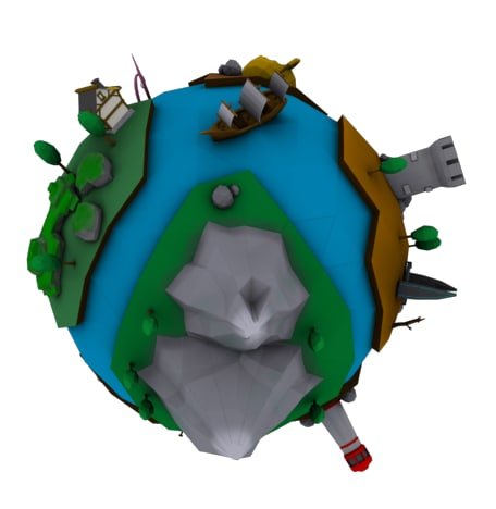planet toon model