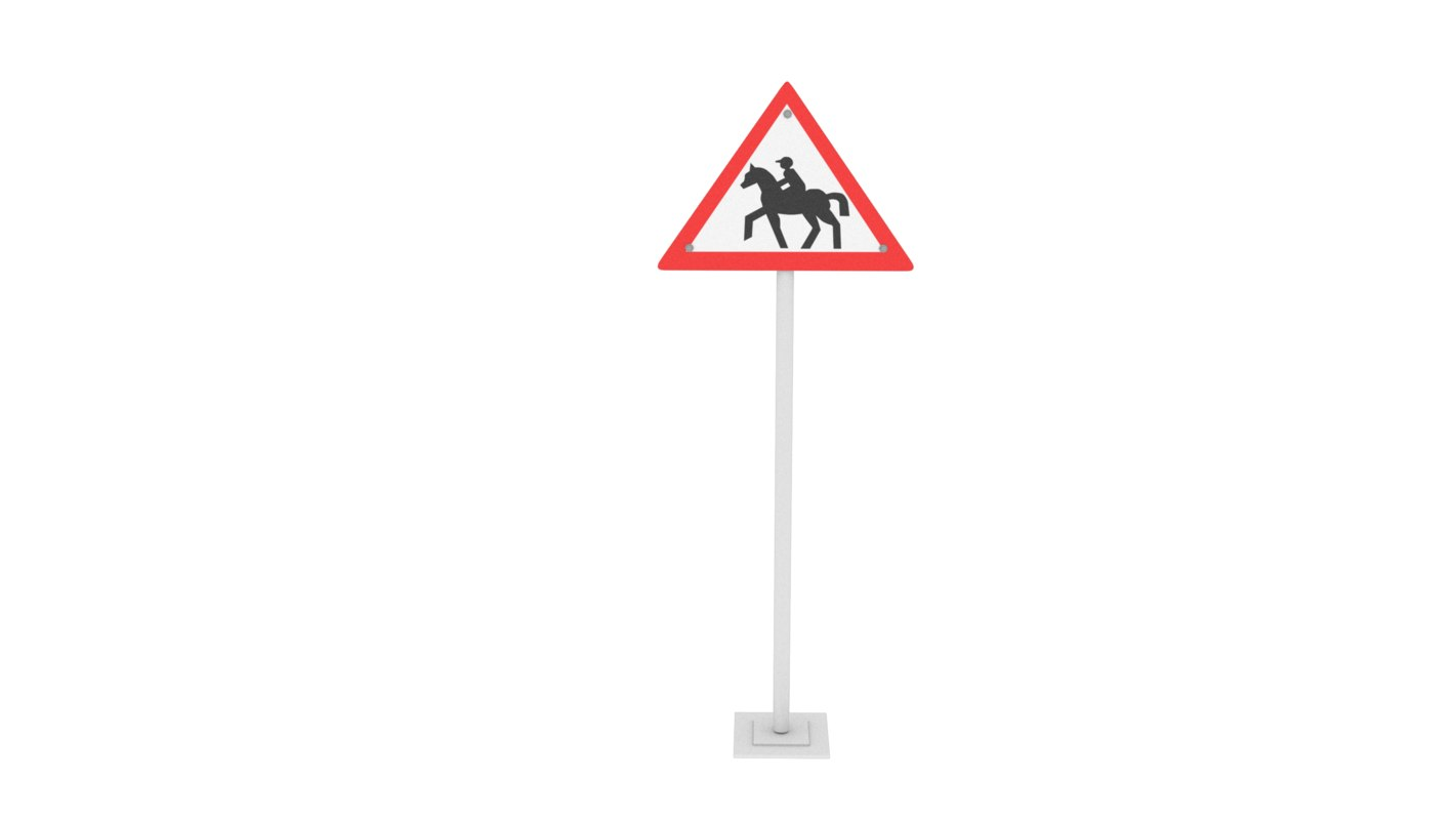 traffic horse riding 3D