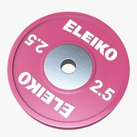 eleiko weightlifting technique disc 3D model