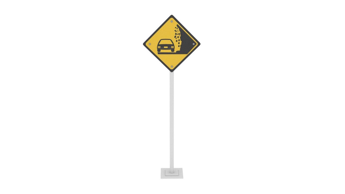 3D traffic risk collapse model