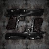 3D gun desert eagle model