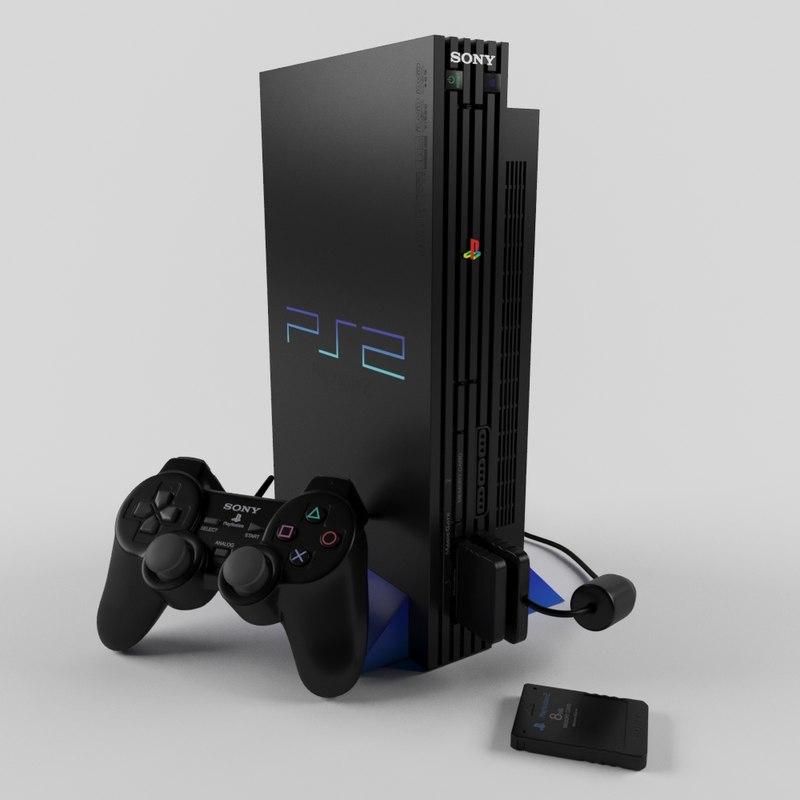 3D sony playstation 2