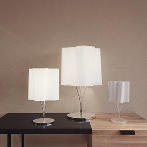 table lamp logico artemide 3D