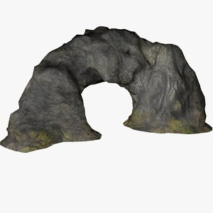 stone arch 3D