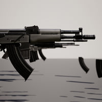 3D photo-realistic weapon games