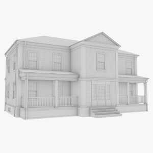 colonial house model