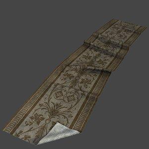 old carpet 3D