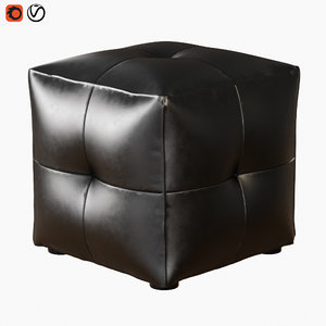 3D model pouf poliform onda
