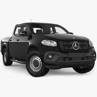 mercedes benz x class 3D model