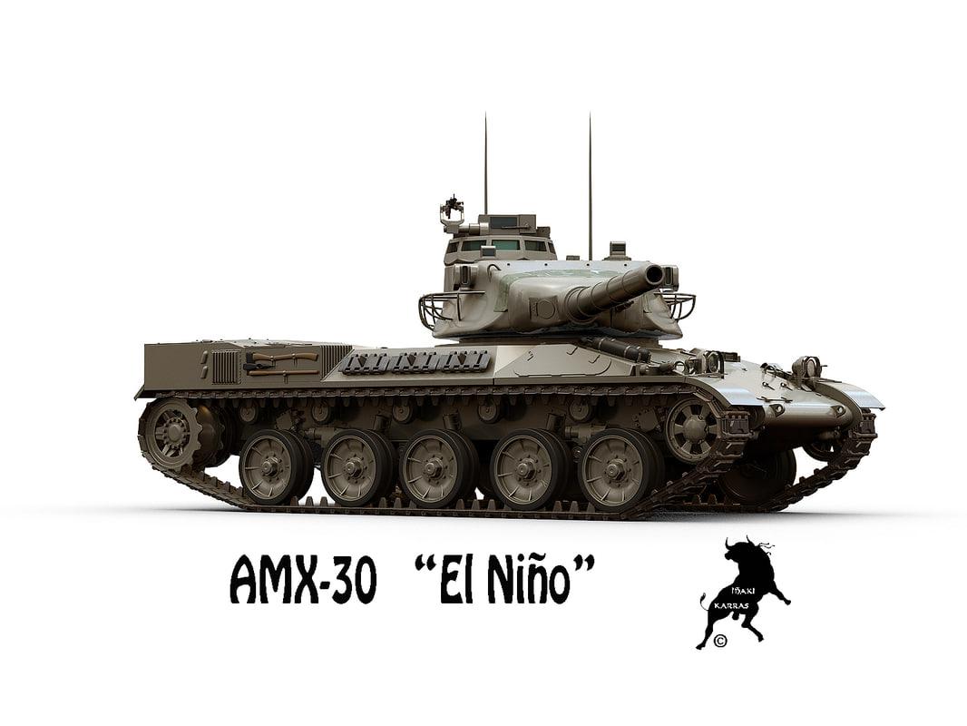 spanish el nio 3D model