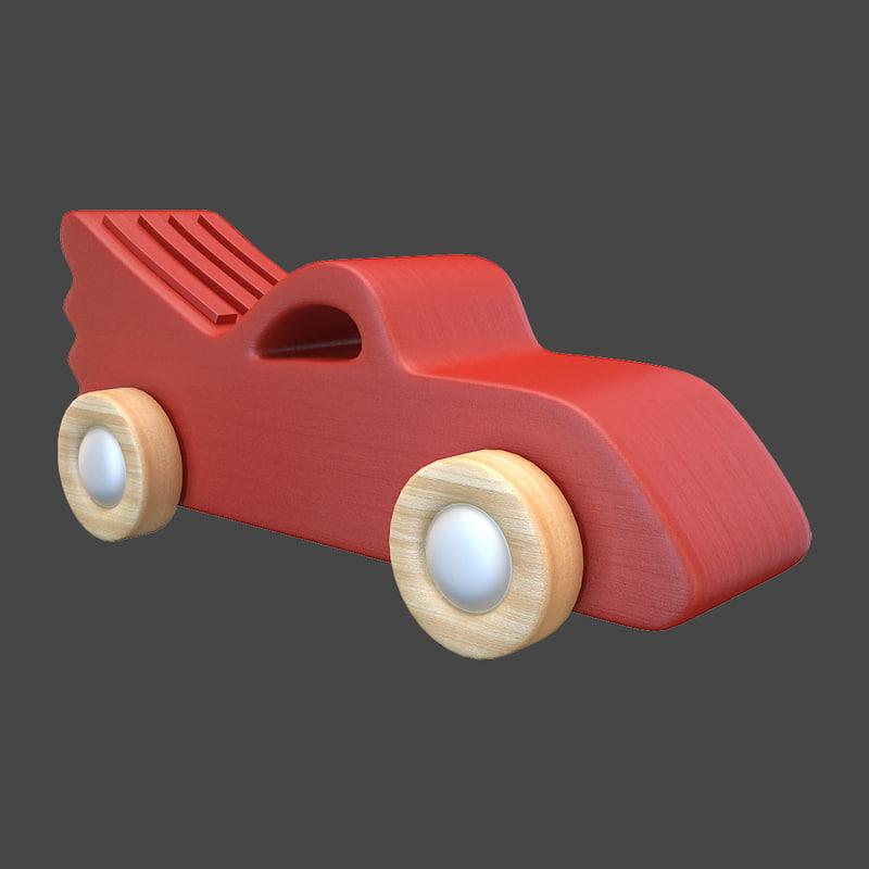 3D model toy car 1