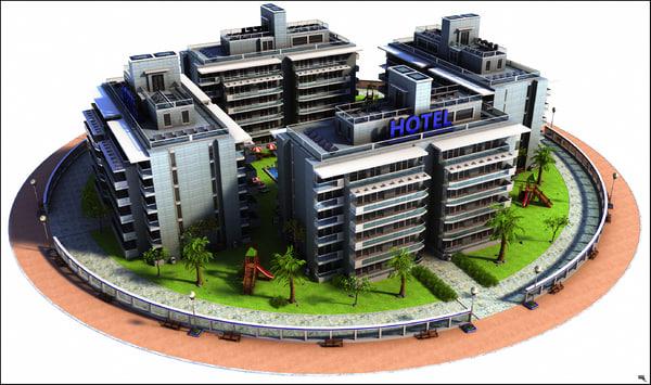 3D hotel ho