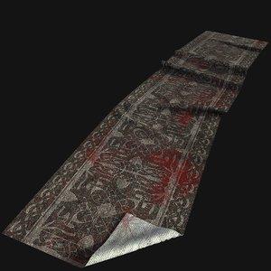 old carpet 3D model