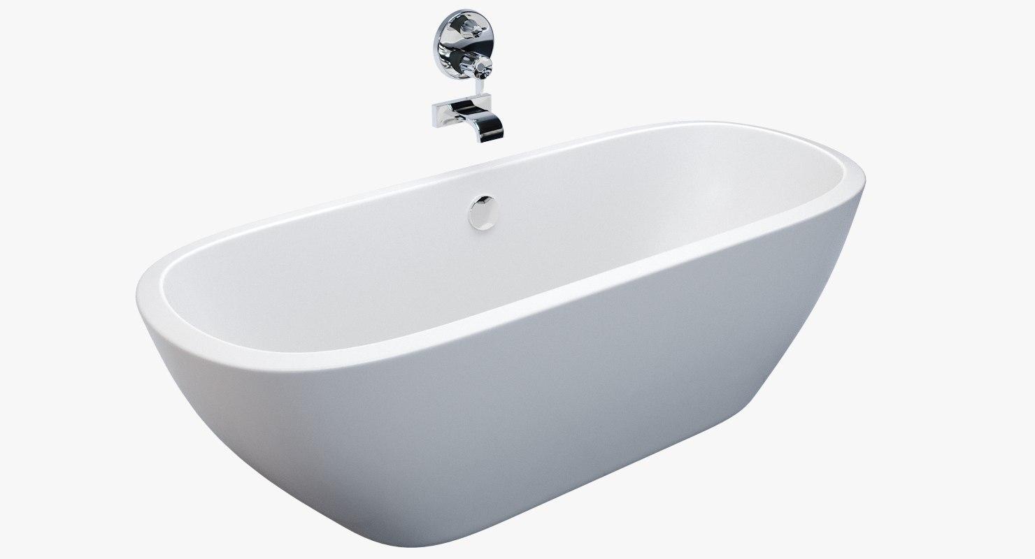 wyndham bathtub 3D model