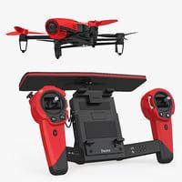 parrot bebop quadcopter drone model