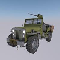 3D model jeep