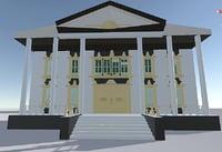 cities blender 3D model