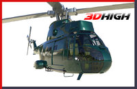 3D model helicopter games