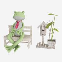 plush frog 3D model