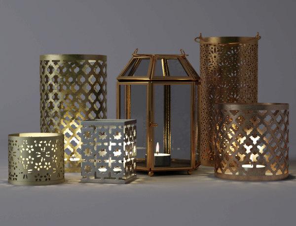 tealightholders home 3D