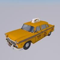 3D taxi