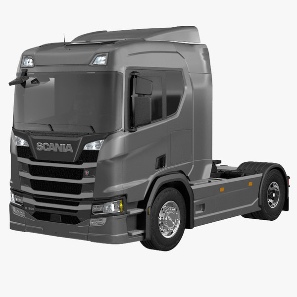 3D scania r500 model