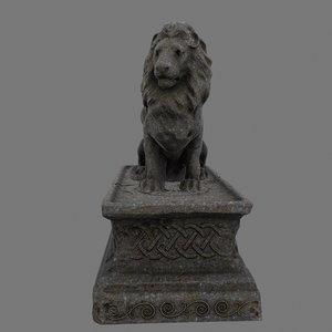 lion base 3D