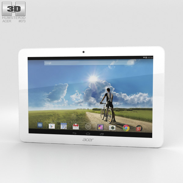 acer iconia tab 3D model
