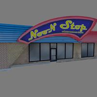 3D s store model