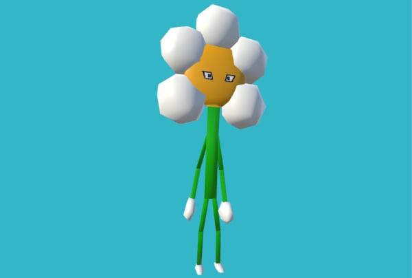 flower person 3D