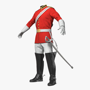 3D british cavalry royal life
