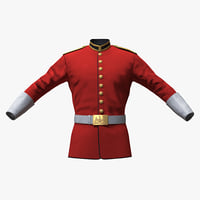 3D british cavalry life guard