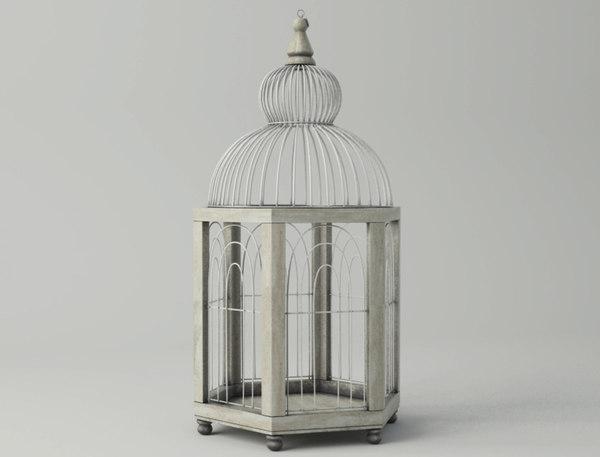 hexi decorative cage zara 3D model