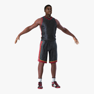 3D basketball player model