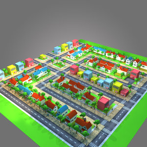 housing building 3D model