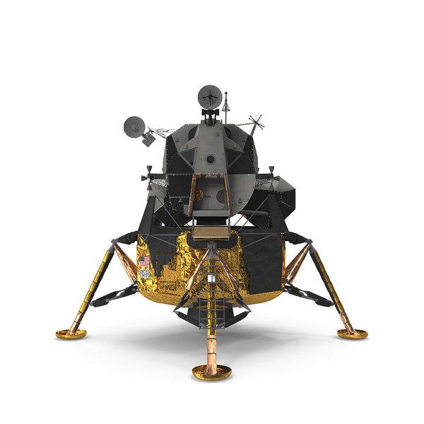 lunar module apollo 11 3D model