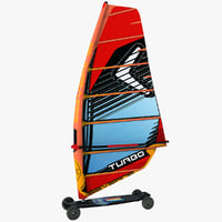 3D windsurf mountain board