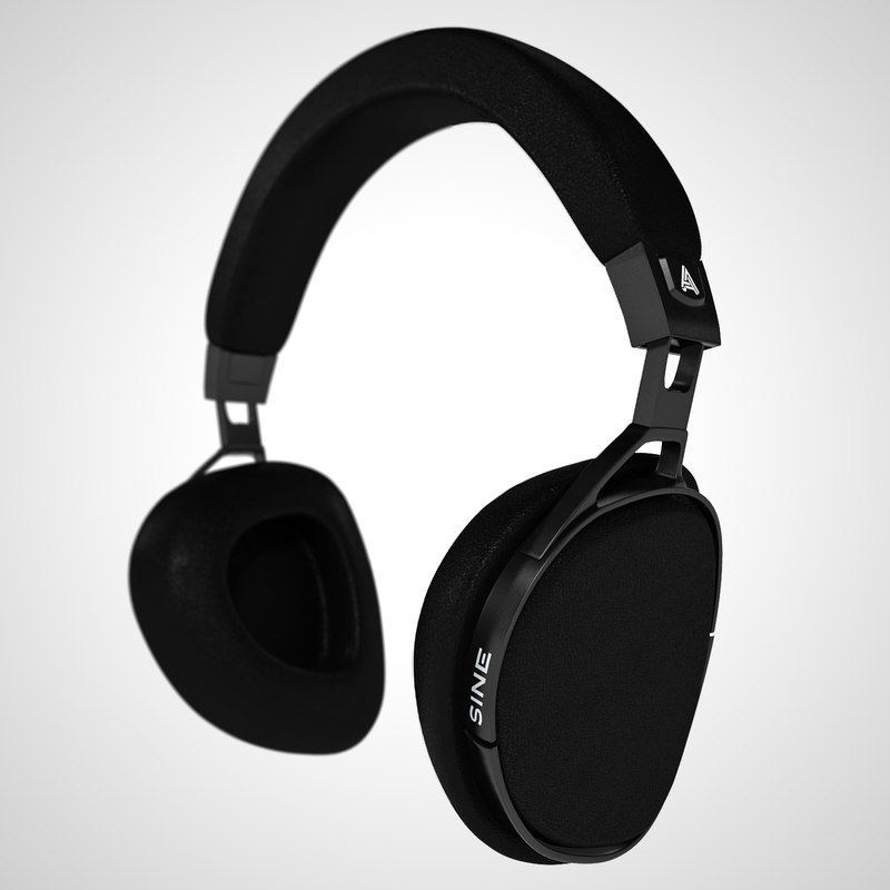 audeze headphones 3D model