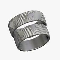 3D rings world