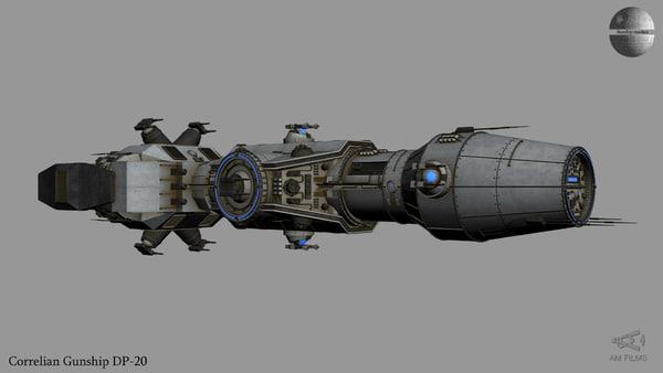 3D gunship dp-20