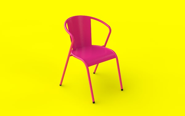 3D typical chair model