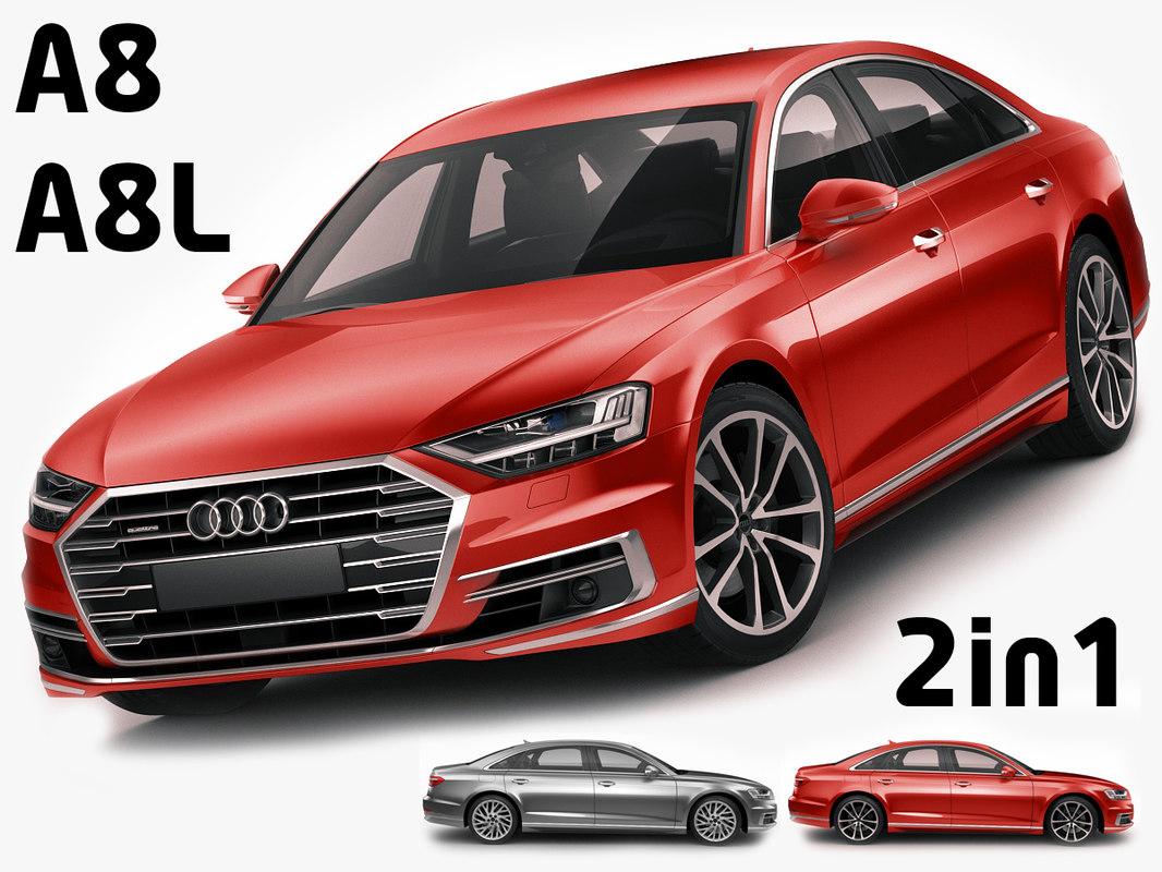Audi A8 A8l 3d Model Turbosquid 1195786