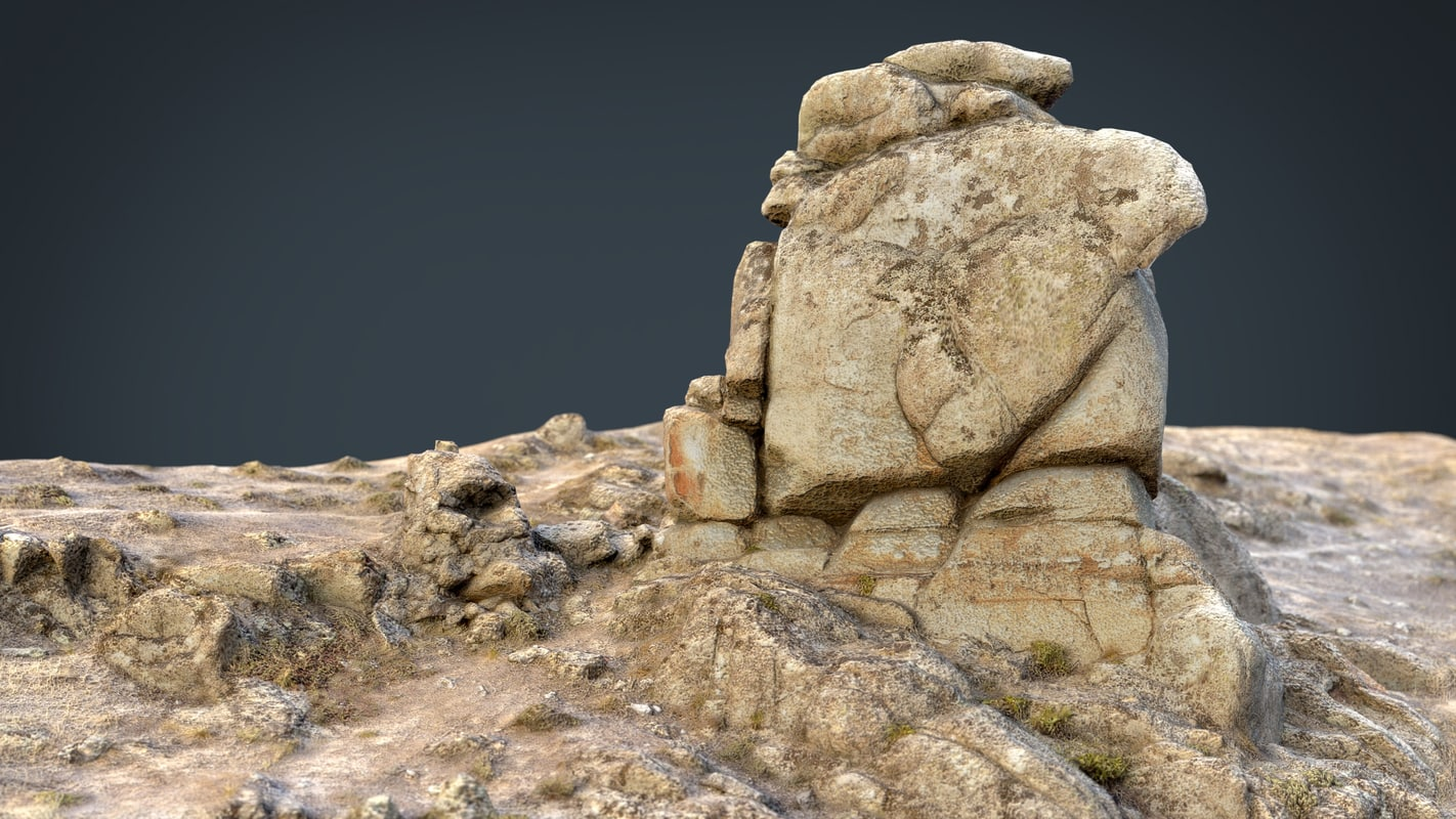 realistic rock model
