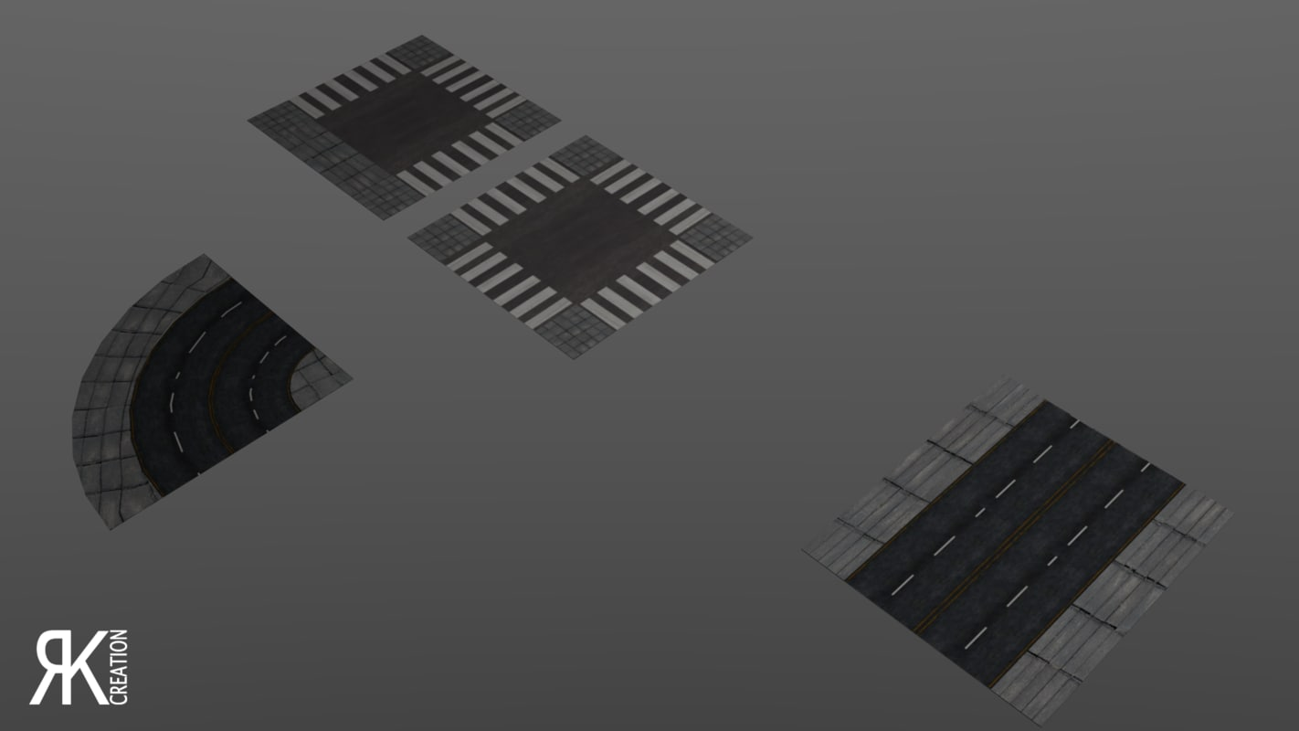 roads 3D model