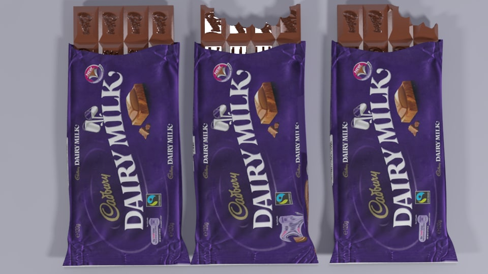 chocolate product 3D model