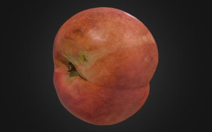 8k nectarine fruits 3 3D