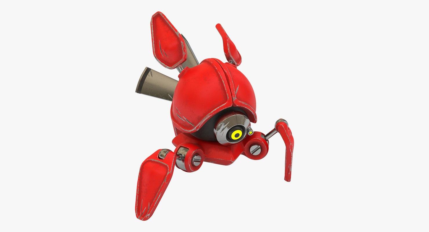 3D model robot scout